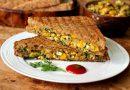 Cheese Chilli Corn Sandwich- Recipe