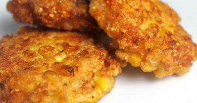 Corn Fritters- Recipe