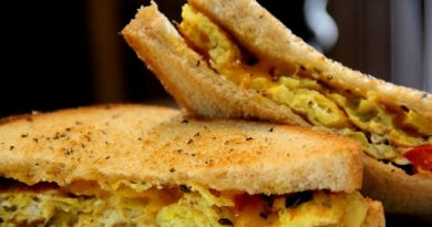 Omelette Sandwich- Recipe