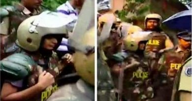 100 policemen accompany 2 women to Sabarimala