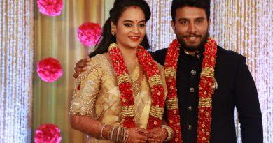 Actor Shivakumar-Actress Suja Varunee Wedding Reception Stills