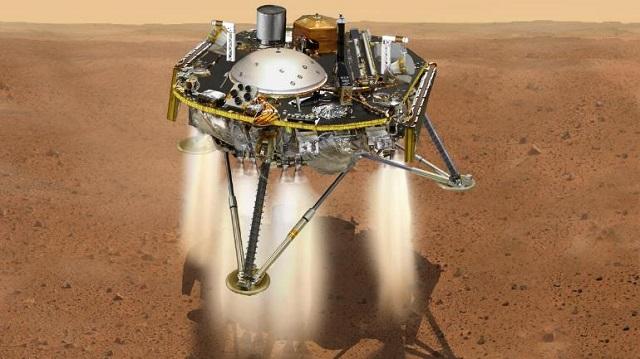 Mars touchdown: Safe landing for NASA's InSight spacecraft ...