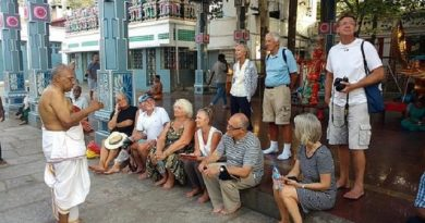 Mylapore Heritage Walk to Commemorate S Rajam