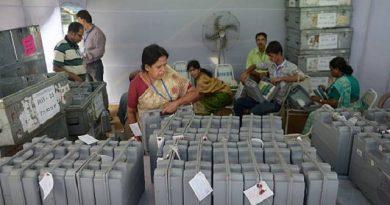 Congress bags Chhattisgarh, TRS sweeps Telangana, suspense in MP