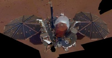 NASA's InSight sends back the first selfie on Mars
