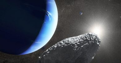 Neptune's tiny Moon may be result of comet collision: Scientists
