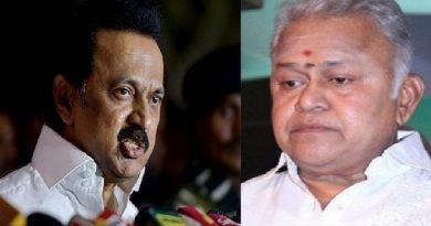 DMK temporarily suspends actor Radha Ravi