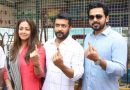 Celebrities cast their Votes – Photos