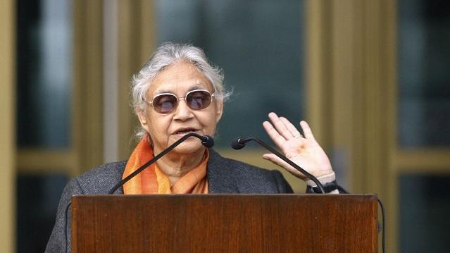 டெல்லியில் உள்ள 7 தொகுதிகளிலும் காங்கிரஸ் போட்டி – ஷீலா தீக்ஷித் அறிவிப்பு