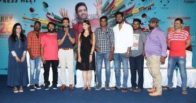 A1 Tamil Movie Press Meet Photos