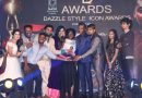 Celebrities at D Awards and Dazzle Style Icon Awards