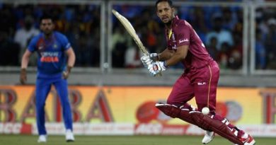 Ind-WI 2nd T20I: Windies level series with a comprehensive win