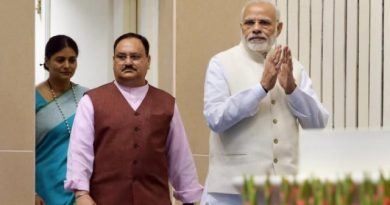 Modi's wishes for Nadda peppered with caution and comparison