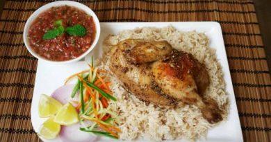 Arabian Chicken Mandi- Recipe