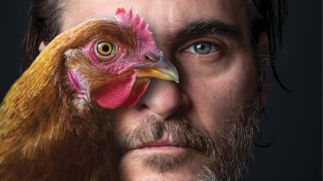 "Joaquin Phoenix reminds ""We""re All Animals"" in PETA ad"