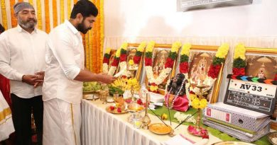 Arun Vijay 33 Movie Pooja Stills