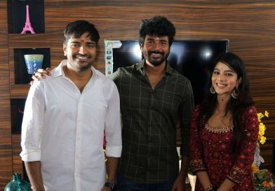 Sathish and Pavithra Lakshmi New Movie Pooja Stills