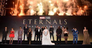 ETERNALS Movie World Premier stills